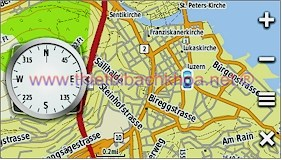 GARMIN Montana 650t - Topographic map of Europe, Luzern